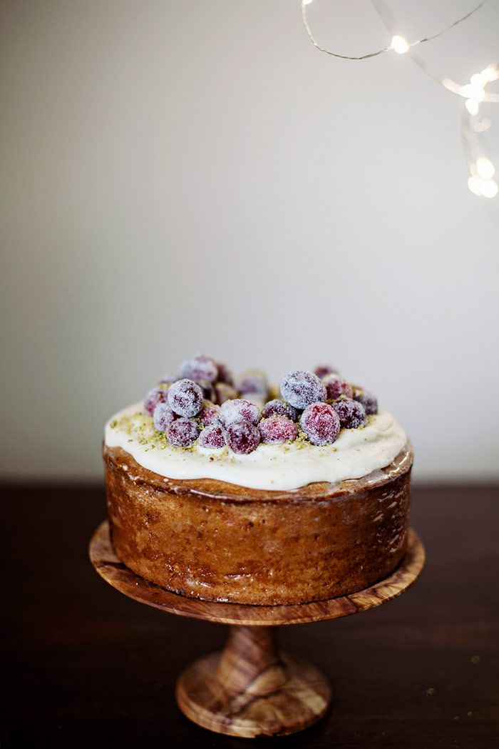 In the Kitchen With: Tara O'Brady's Cranberry Ginger Cake | Design*Sponge | Bloglovin'