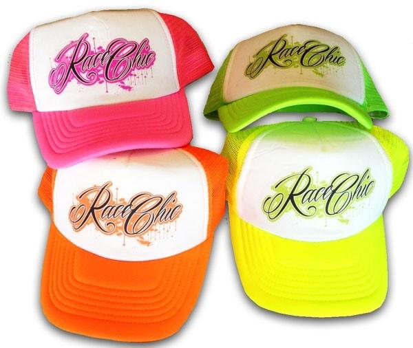 Team Race Chic - RC NEON TRUCKER HATS, $10.00 (http://teamracechic