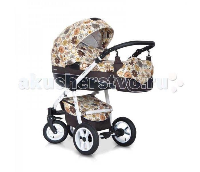 Коляска Riko Nano Flower collection 2 в 1  Коляска Riko Nano Flower collection 2 в 1 - элегантная коляска с неповторимым дизайном для детей от рождения до 3-х лет.   Многофункциональная транспортная система Riko Nano 2 в 1, обеспечивающая комфорт и безопасность на прогулках с Вашим ребенком. Детская универсальная коляска изготовлена с использованием высококачественных легких дышащих текстильных материалов, имеет небольшой вес и отличную маневренность на дороге.  Люлька Riko: Обивка и…