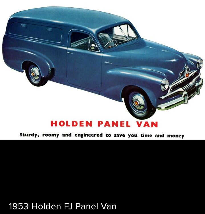 1953 Holden FJ Panel Van