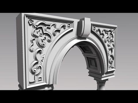 ZBrush Hard Surface Techniques _ 9 - YouTube