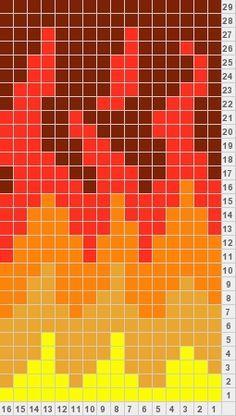 flame pattern socks knitting pattern - Google Search