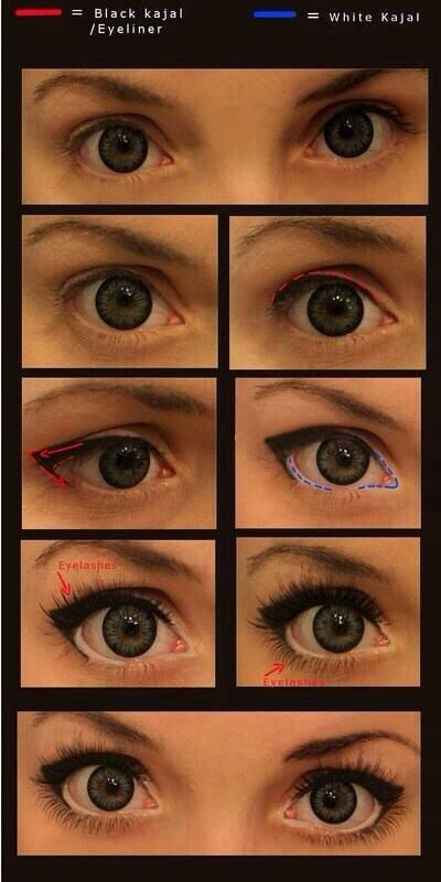 How to make eyes pop, doable without fake lashes