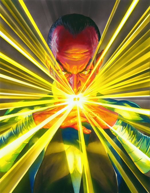 Alex Ross Mythology: Sinestro by Alex Ross