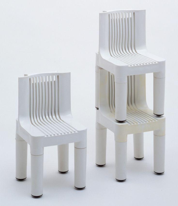 Marco Zanuso, Richard Sapper. Children's Chairs (model K4999). 1960–1964