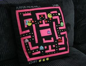 Pac-Man Pillow