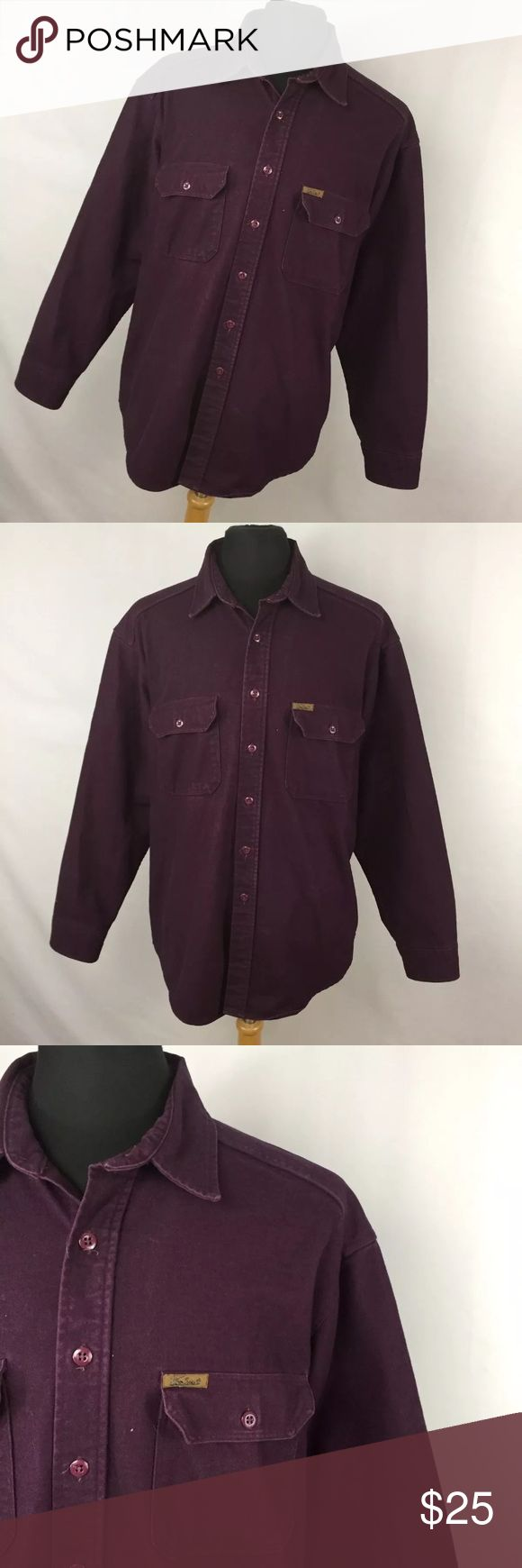 Woolrich XL Expedition Chamois Shirt Plum Purple Woolrich XL Expedition Chamois Shirt Plum Purple Button Down Thick Work. Excellent condition. Smoke free home. Woolrich XL Expedition Chamois Shirt Plum Purple Button Down Thick Work L2P Woolrich Shirts Casual Button Down Shirts
