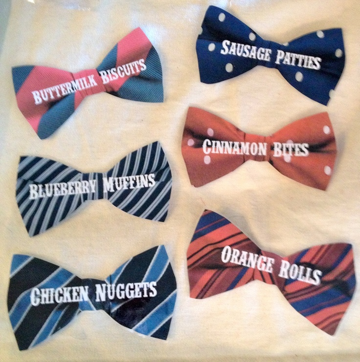 how to make a printed bow