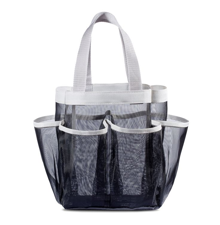 Delighful Cute Shower Caddy Tote Black Keep Your To Design Decorating