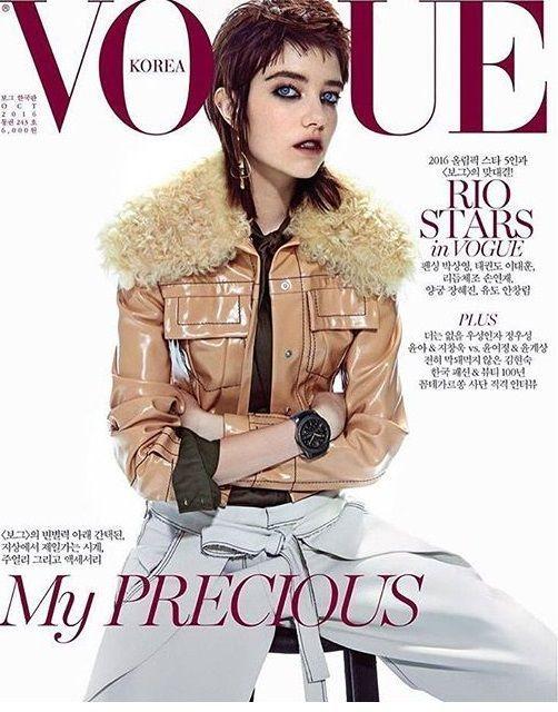 Vogue Korea October 2016  #fashion, #trends, #style, #design, #attitude, #womensfashion, #glamour, #online, #magazine