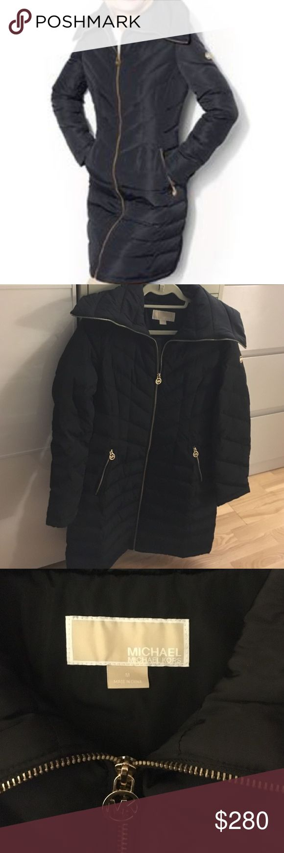 Michael Kors puffer coat NWOT Never worn! Was a gift but doesn't fit, lost the tags and no receipt  MICHAEL Michael Kors Jackets & Coats Puffers