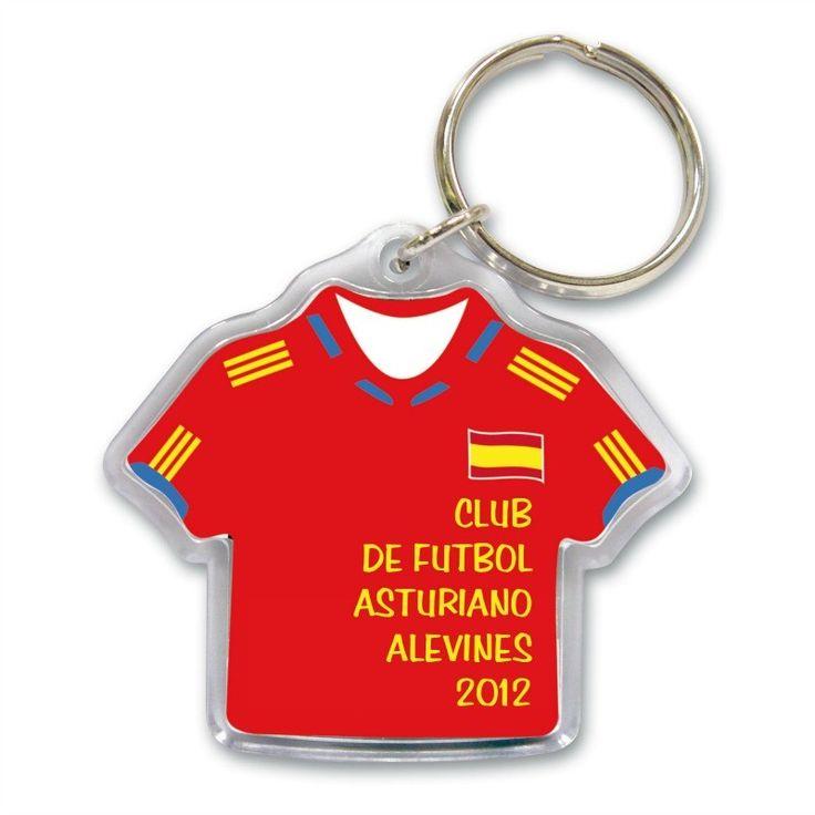 Llavero camiseta España ABS
