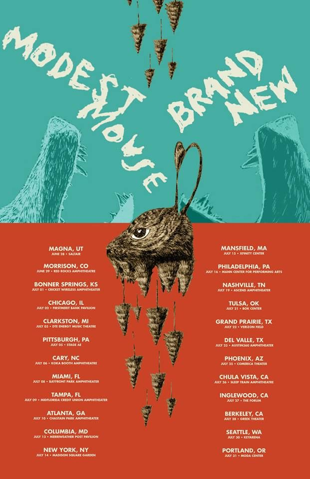 Brand New & Modest Mouse Tour 2016 | Currently Streaming