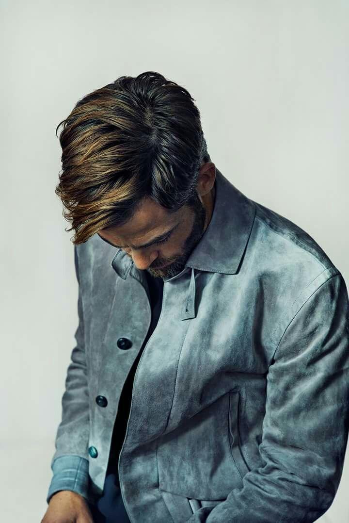 Chris Pine for Elle magazine.
