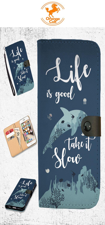 Life is Good - Wallet Case   Orange Colt   Best wallet