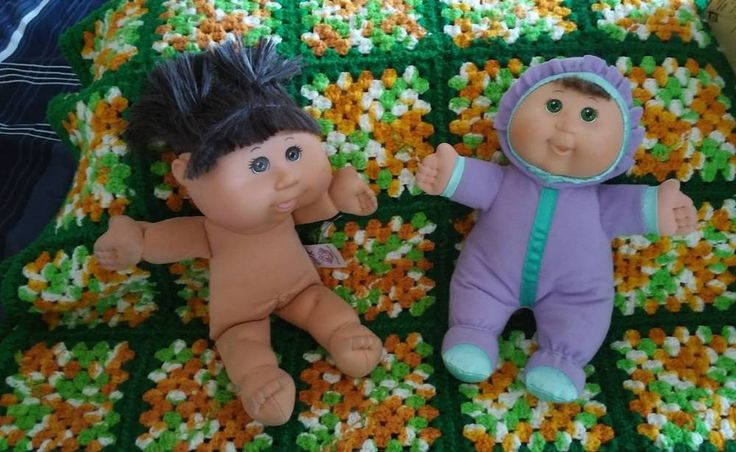 Two Cabbage Patch Kids Dolls 2012 & 2011 #DollswithClothingAccessories
