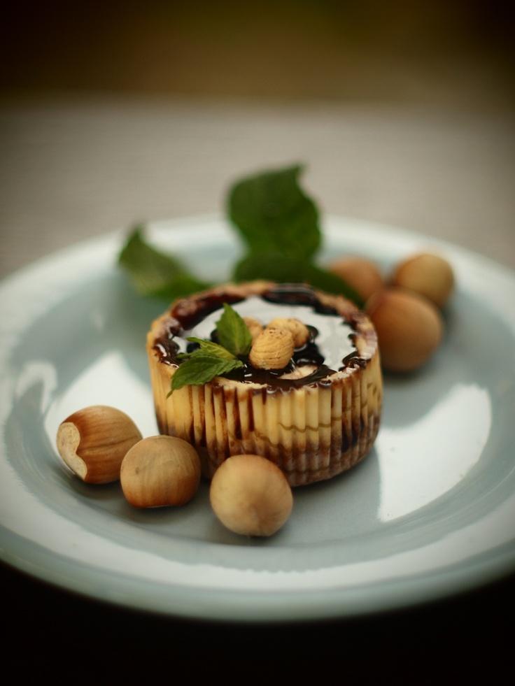 Hazelnuts minicheesecakes