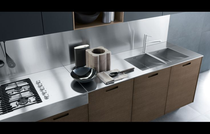 KYTON KITCHEN CABINETRY Designed by Poliform