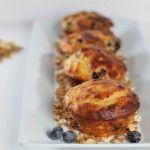 Blueberry & Yoghurt Muffins