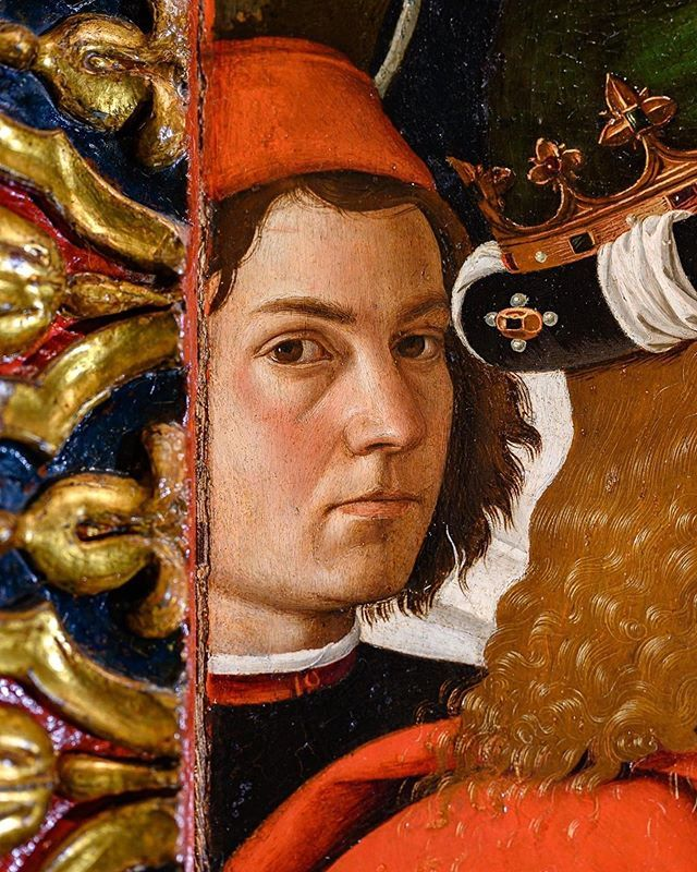c.1470-73.Pietro Perugino,The Adoration of the Magi ...