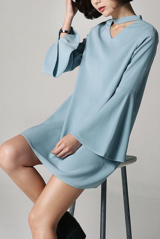 Amphitrite Choker Dress