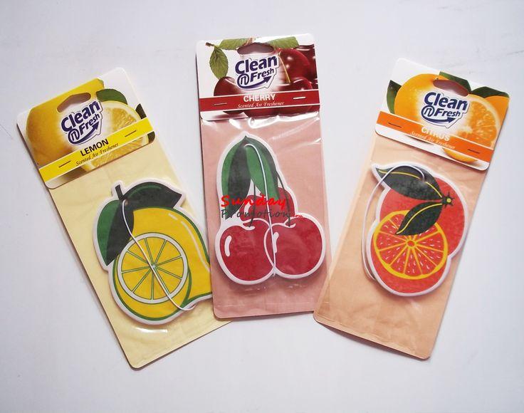 Custom Paper Car Air Freshener for Promotion Car Shape