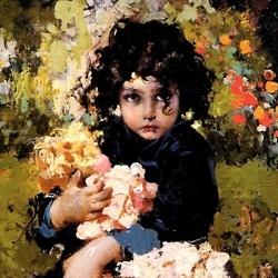 Vincenzo Irolli (1860 – 1949) Italian painter
