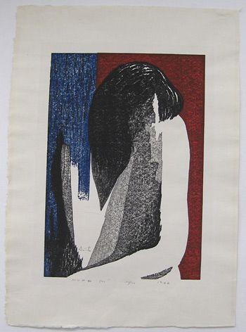 Japanese Art by the artist Kiyoshi Saito