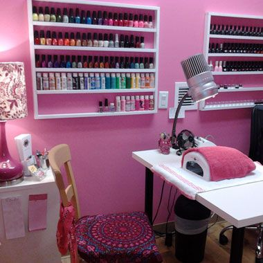 I'm super organized so I have everything right where it needs to be! —Classic Mully, owner, The Nail Artist, Gilbert, AZ
