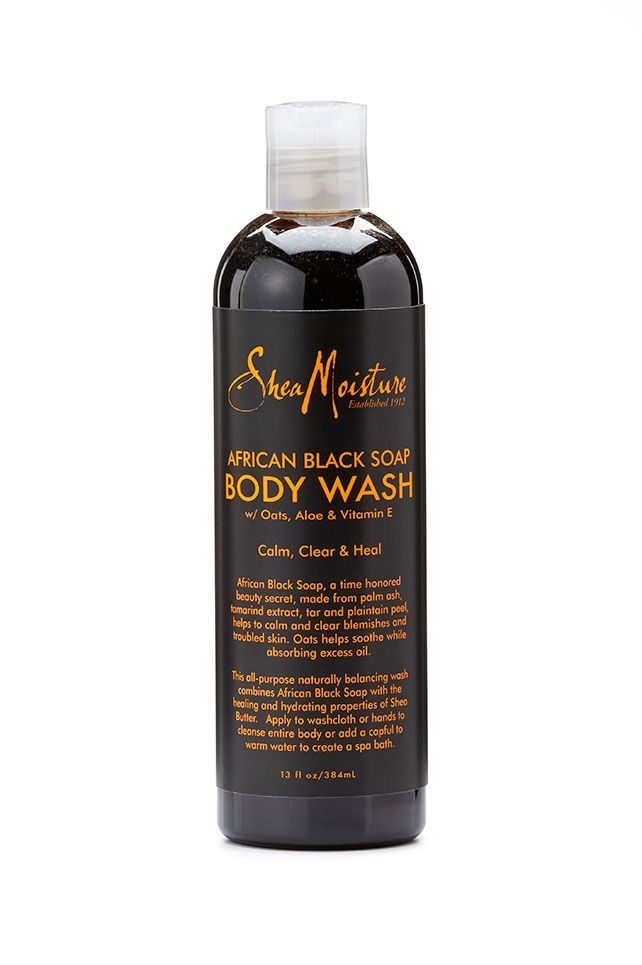 <><><> WHITELISTED!  100% CRUELTY FREE! <><><> Shea Moisture- African Black Soap Body Wash: cleanses, hydrates and calms problem skin. Helps to balance oily skin for a clearer appearance. - Made with natural and certified organic ingredients. - Oats help soothe irritated skin while absorbing excess oil. - Aloe moisturizes and calms dry sensitive skin. - Vitamin E is a powerful antioxidant highly effective in protecting skin from free radical damage.