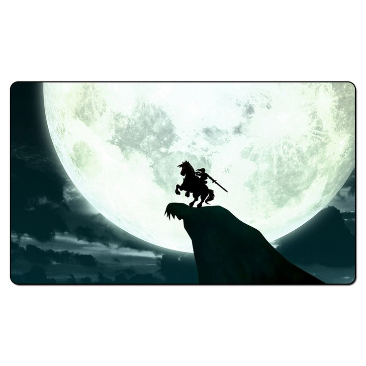 Board Games Triforce Playmat Video Games Legend of Zelda Moon Knight Playmat, Zelda Big Mouse Pad with Free Playmat Bag
