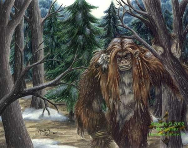 Fanskapet - Wandering the forests of Sweden, these mid-sized hairy humanoids were first recorded when a photo was taken of an individual in 2011. They are semi-intelligent like trolls, and seem to share a physiology with the famous Scandinavian monsters, once again suggesting a relationship between the two groups of creatures.