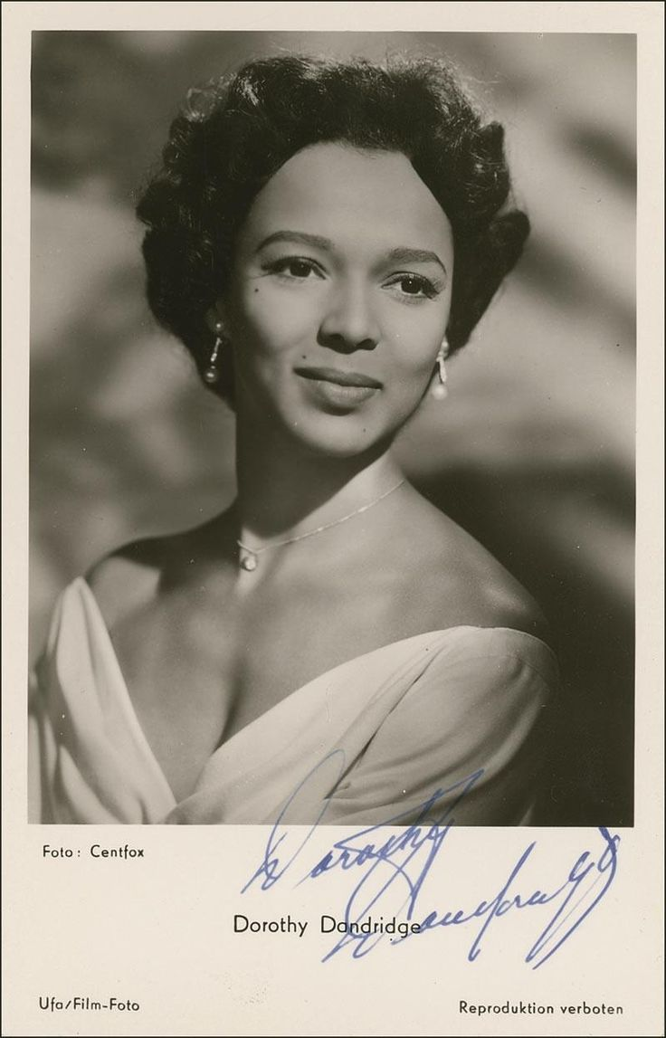 """While Dorothy Dandridge was equal if not superior to many of her white female movie star counterparts, her career in Hollywood was spotty due largely to the fact that roles for Black actors were few and far between. A victim of the racism and sexism of her time, Dorothy Dandridge was never able to achieve her potential as a box office screen siren."""" - writer Cynthia C. Scott"""