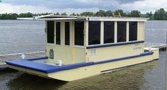 Small Houseboats | Houseboats, Floating Homes  Tiny Houses | Budget Boating:Houseboats ...