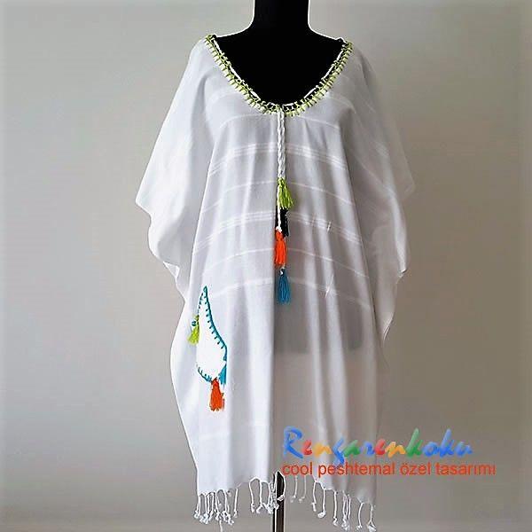 Rengarenkoku bambu peştemal elbise.Lütfen fiyat bilgisi ve siparişleriniz için rengarenkoku@gmail.com adresine e- posta yollayınız.instagram adresimizden ya da facebook sayfamızdan tasarımlarımızı izleyebilir, mesaj yollayabilirsiniz.