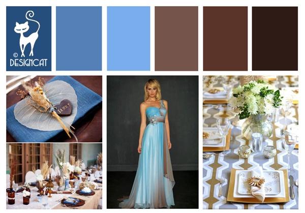 beige and brown wedding - photo #43