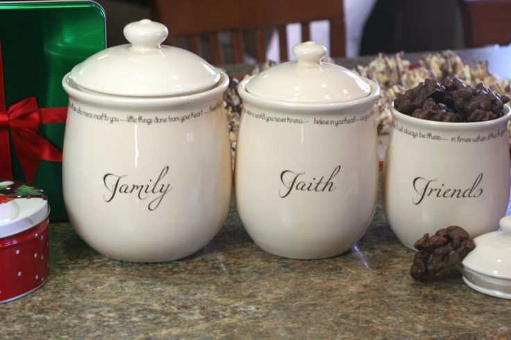 Inspiration Canisters from the Country Door #HolidayProgressiveDinner #ad #gifts @Country Door Catalog