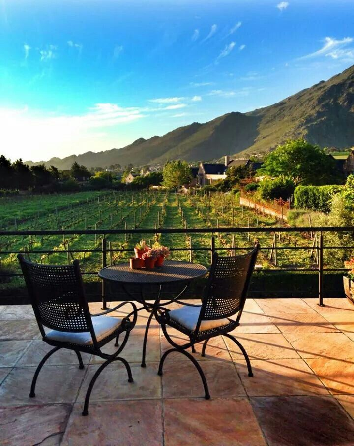 Franschoek view,  South Africa