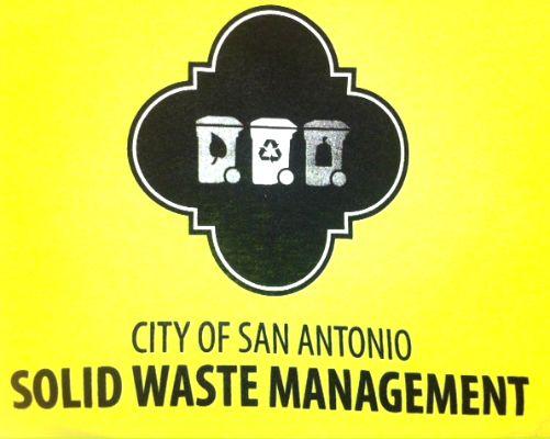 City Of San Antonio Texas Solid Waste Management Custom