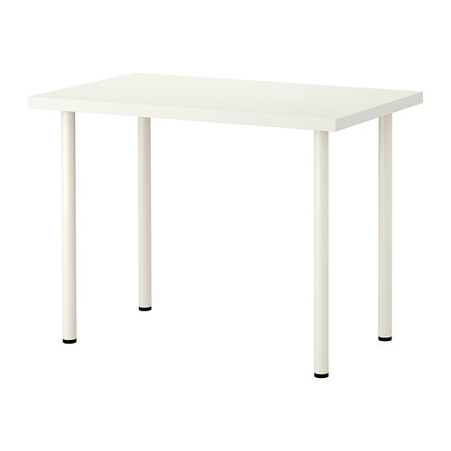 VIKA AMON/VIKA ADILS Table - white - IKEA: 1 of these on each side of the corner table