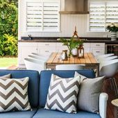 Entertain outdoors in style