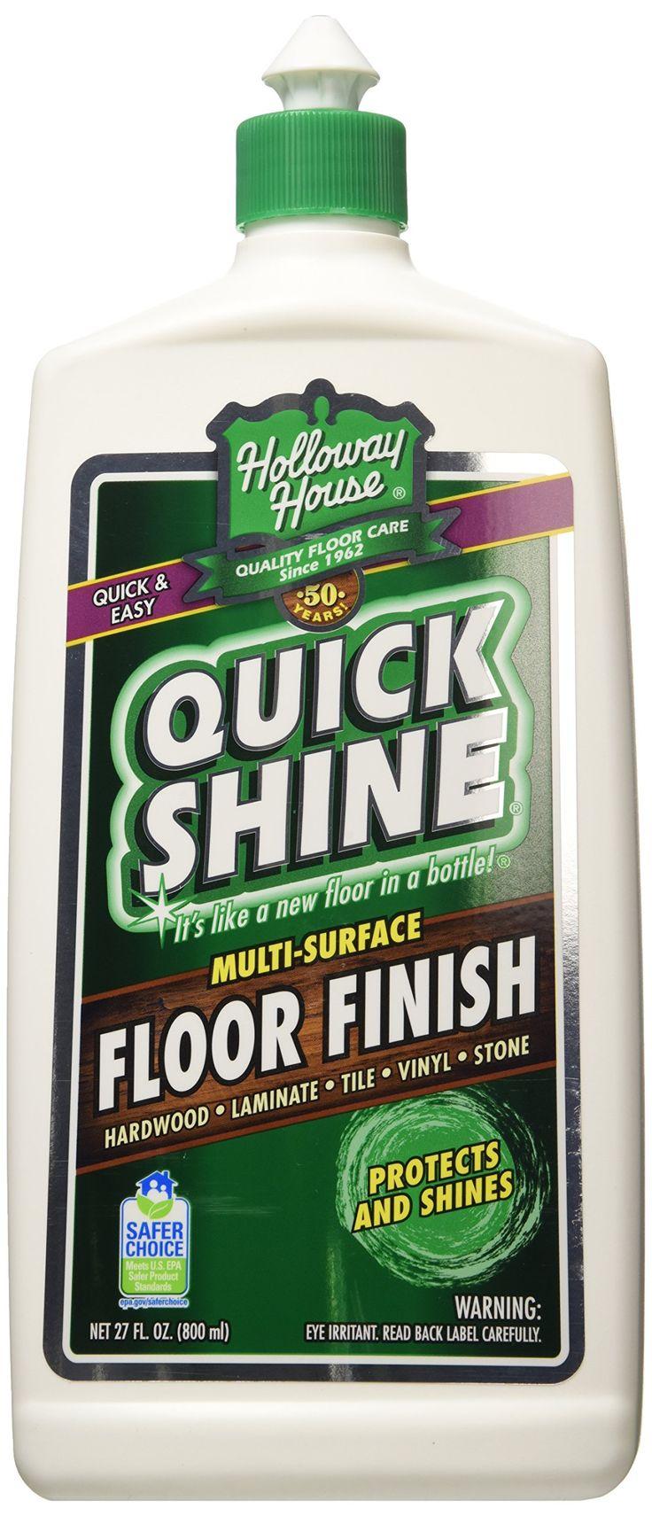 Amazon.com: Holloway House Inc 27Oz Quick Shine Floor Finish 77777: Health & Personal Care
