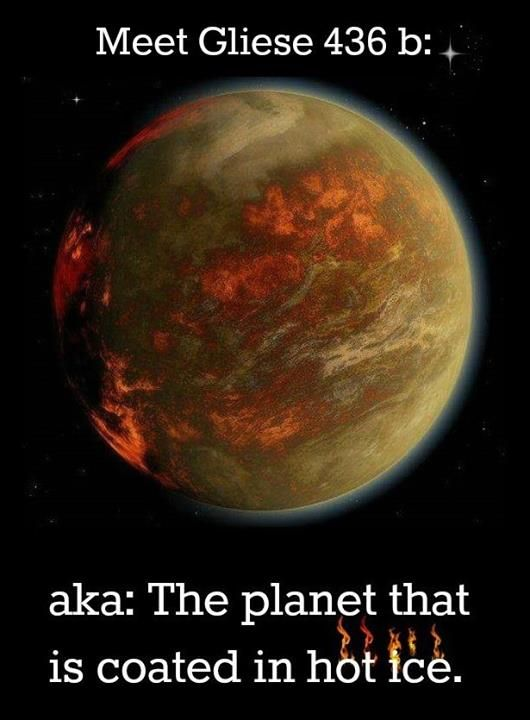 Gliese 436 aka: The planet that is coated in Hot Ice | Things You Didn't Know!