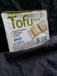 Tofu firme - Comprado en Mercadona