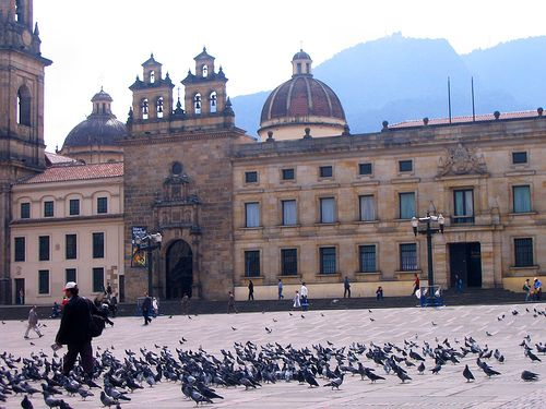 Plaza de Bolivar Bogota.  #Colombia #SoyColombiano