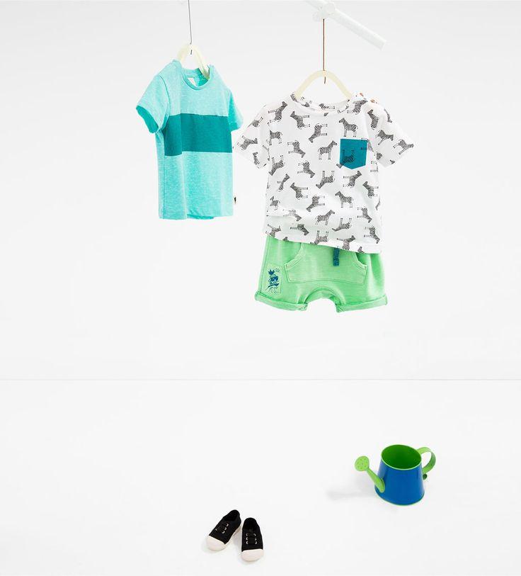 Pineapple Bermuda shorts