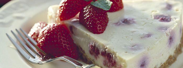 Red Berry Cheesecake - Bertolli Recipe.