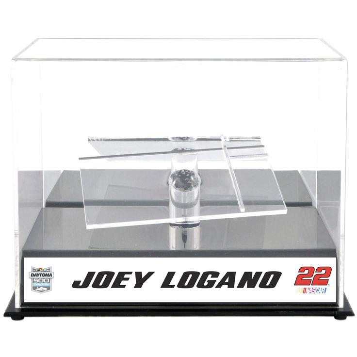 Joey Logano Fanatics Authentic 2015 Daytona 500 Champion 1:24 Die-Cast Display Case w/Sublimated Plate - $39.99