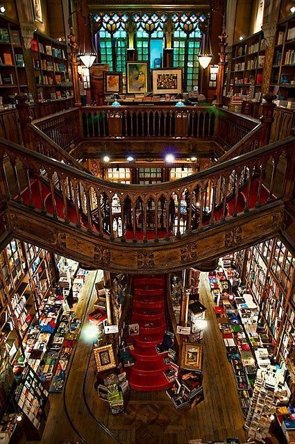 Livraria Lello & Irmão, also known as Livraria Chardron or simply Livraria Lello (Lello Bookstore). Along with Bertrand in Lisbon, it is one of the oldest bookstores in Portugal ✉️ Rua das Carmelitas 144, 4050-161 ✆ +351 222 002 037