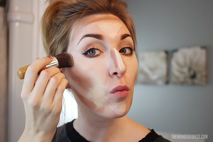 How To Highlight and Contour: Makeup Tutorial | Wonder Forest: Design Your Life.